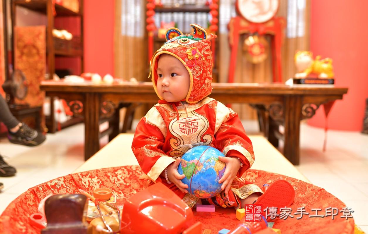 鳳山區林寶寶古禮抓周:周歲抓周活動和儀式,一切圓滿。照片6