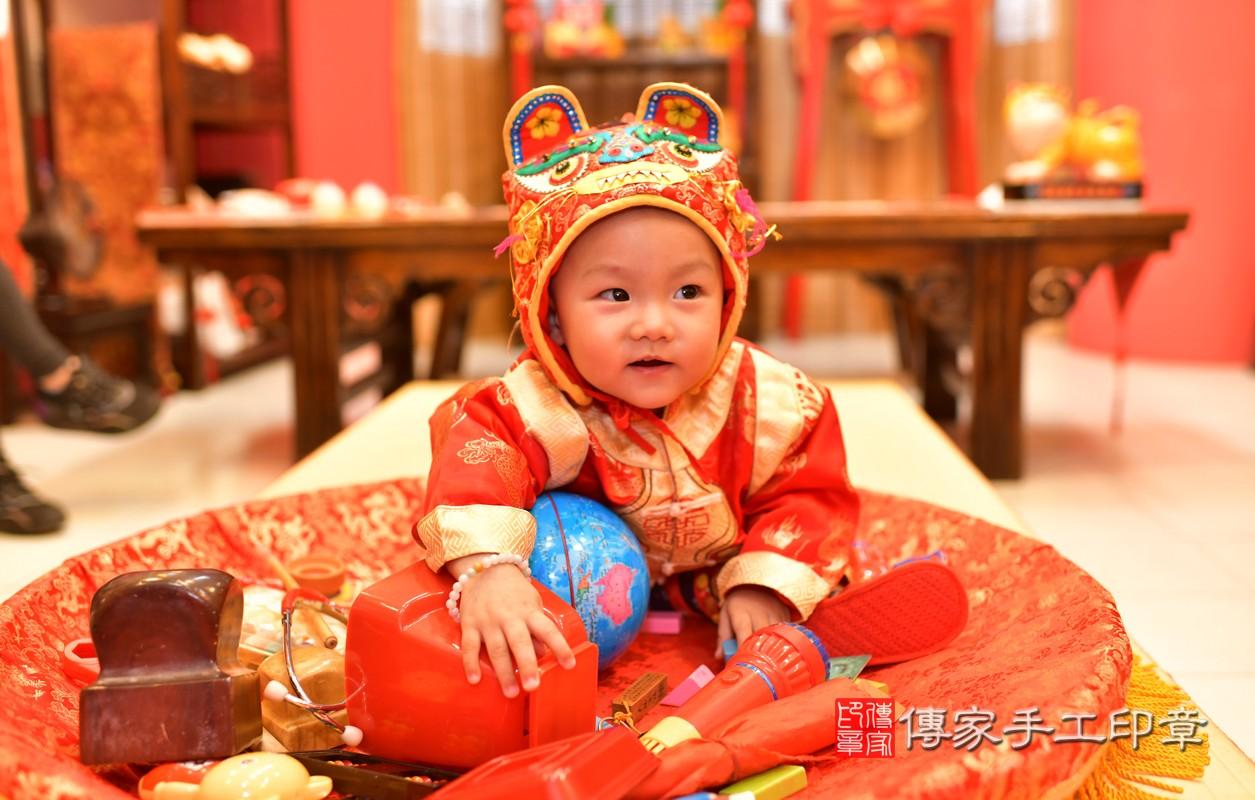 鳳山區林寶寶古禮抓周:周歲抓周活動和儀式,一切圓滿。照片7