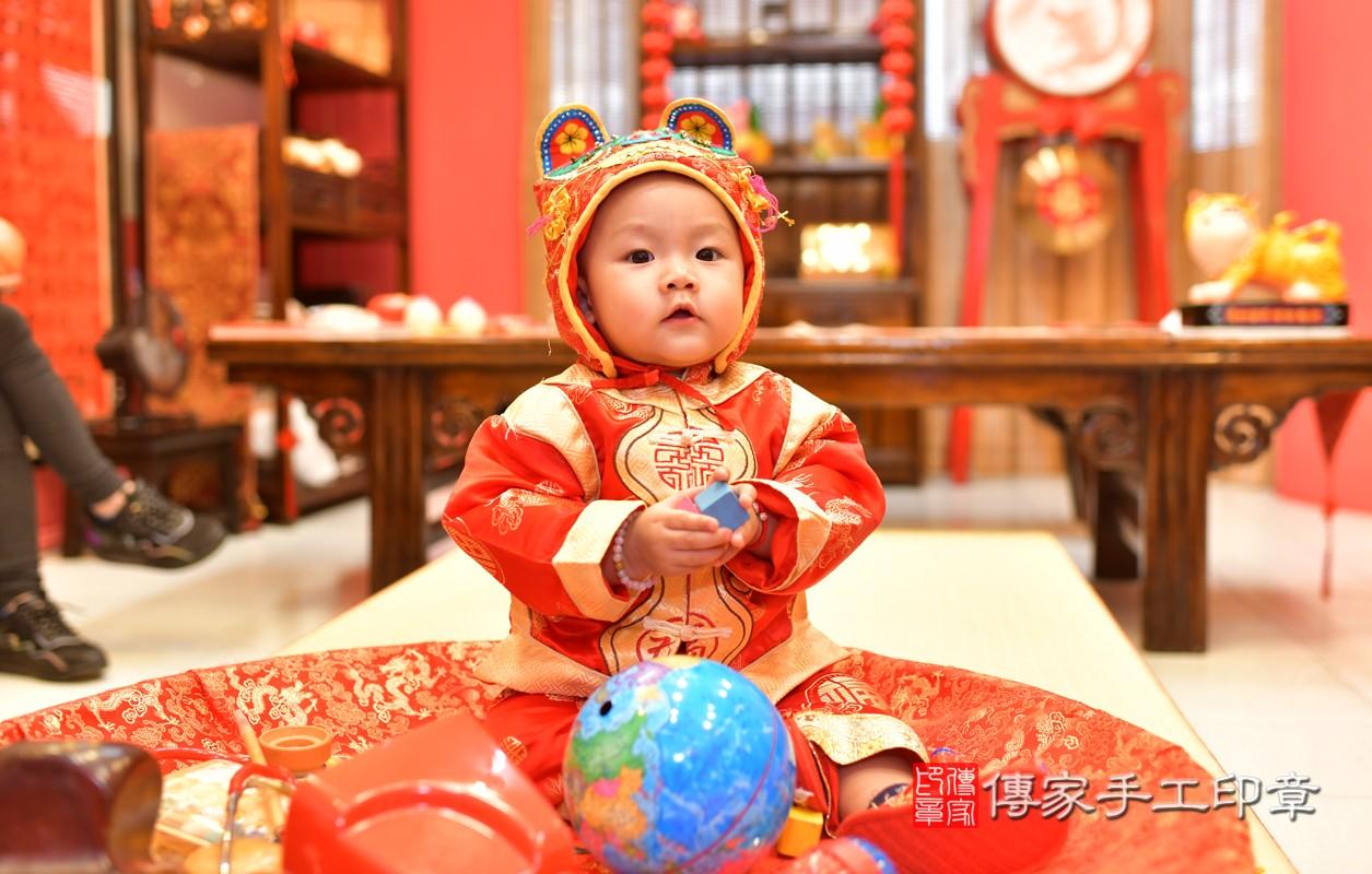鳳山區林寶寶古禮抓周:周歲抓周活動和儀式,一切圓滿。照片9