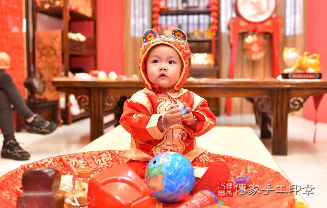 鳳山區林寶寶古禮抓周:周歲抓周活動和儀式,一切圓滿。照片8