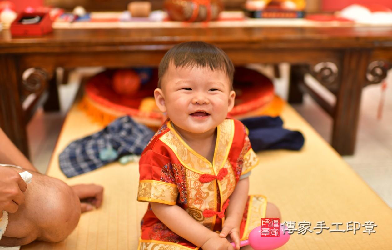 鳳山區許寶寶古禮抓周:周歲抓周活動和儀式,一切圓滿。照片2