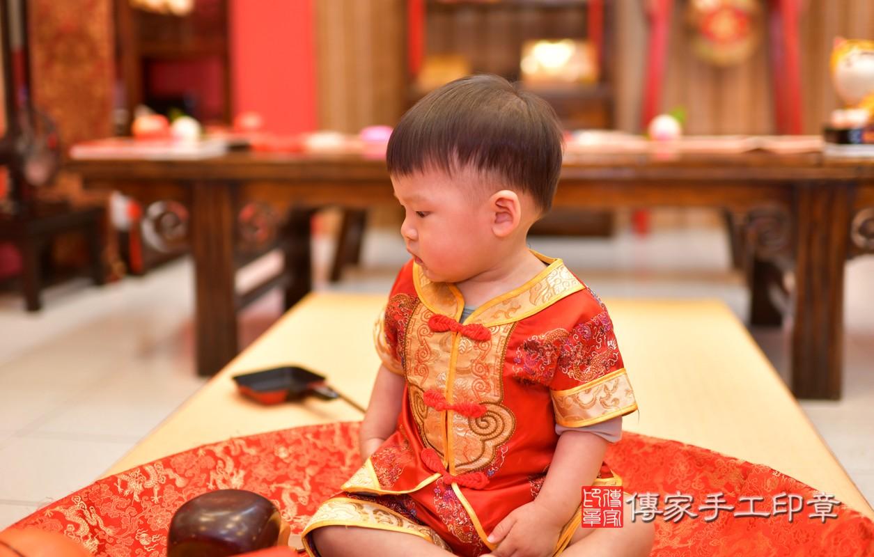 鳳山區許寶寶古禮抓周:周歲抓周活動和儀式,一切圓滿。照片3