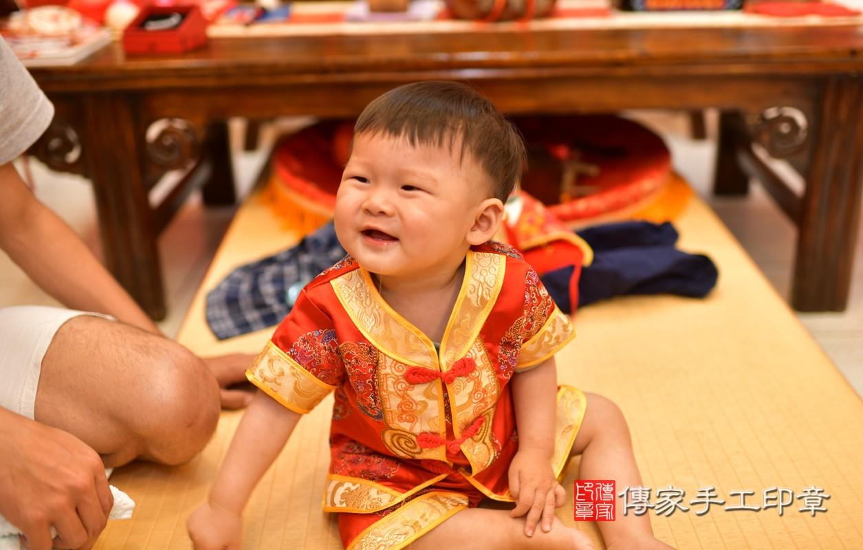 鳳山區許寶寶古禮抓周:周歲抓周活動和儀式,一切圓滿。照片1
