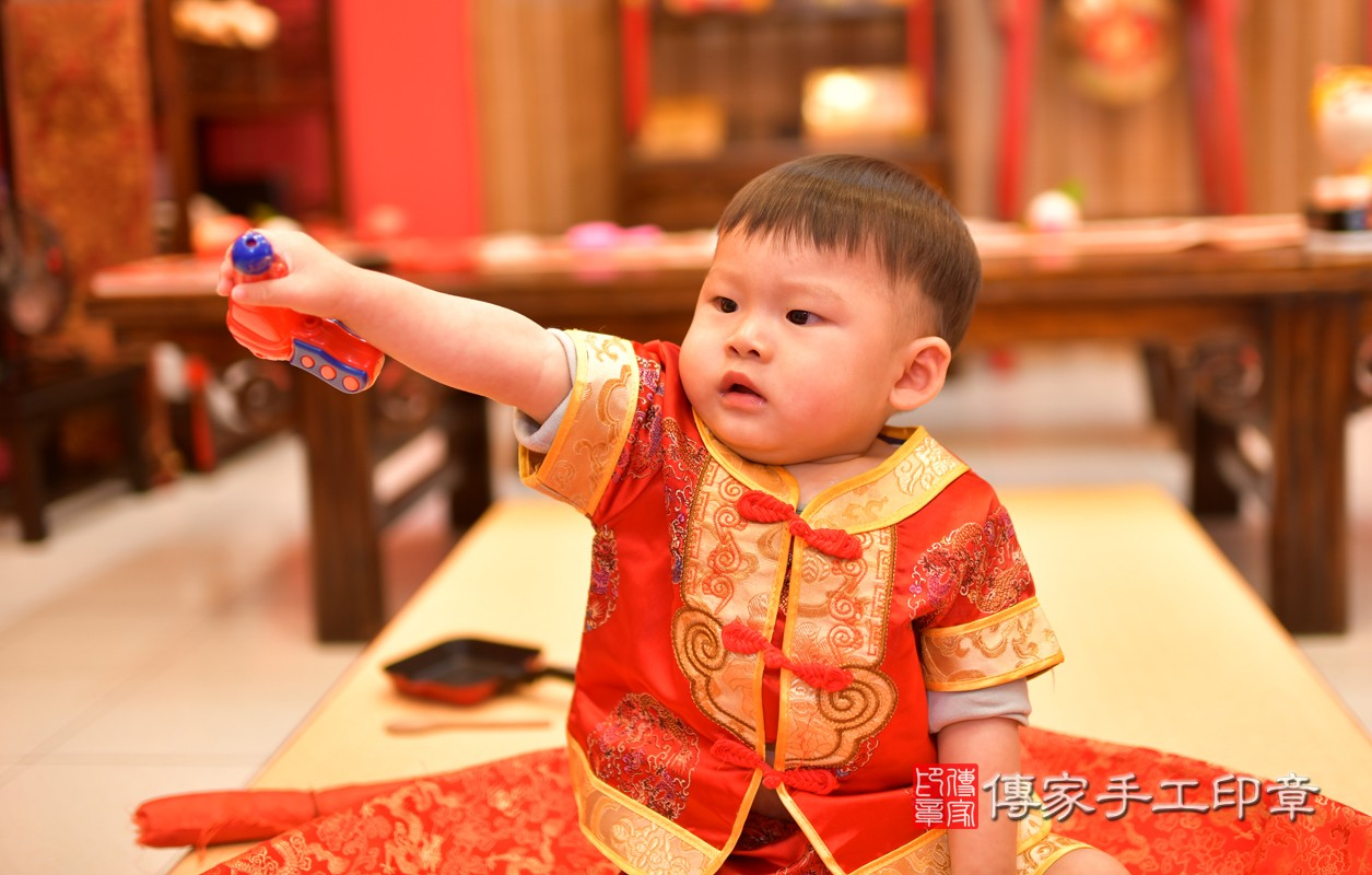 鳳山區許寶寶古禮抓周:周歲抓周活動和儀式,一切圓滿。照片6