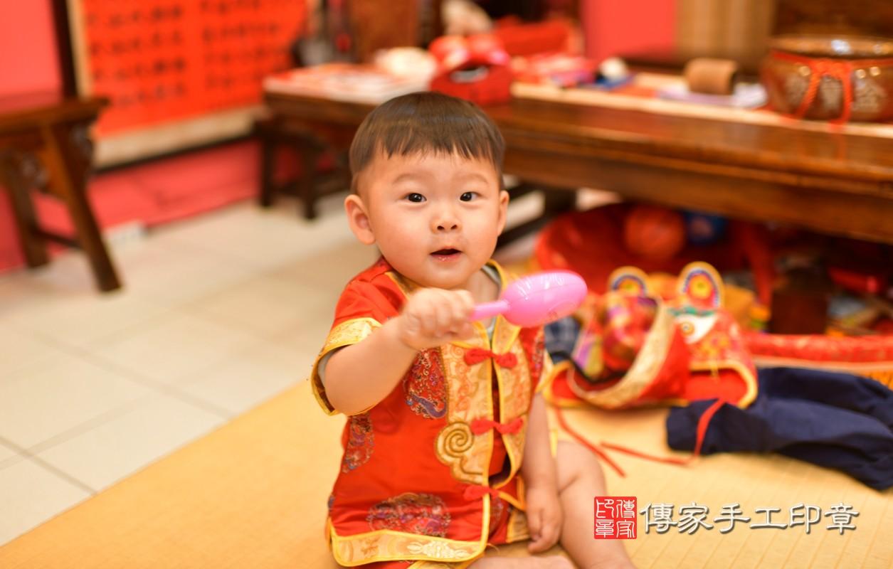 鳳山區許寶寶古禮抓周:周歲抓周活動和儀式,一切圓滿。照片4
