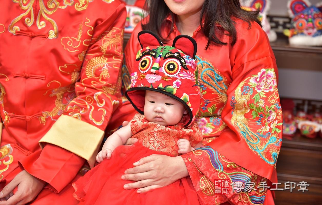 新竹市香山區林寶寶古禮收涎祝福活動。2021.01.28 照片8