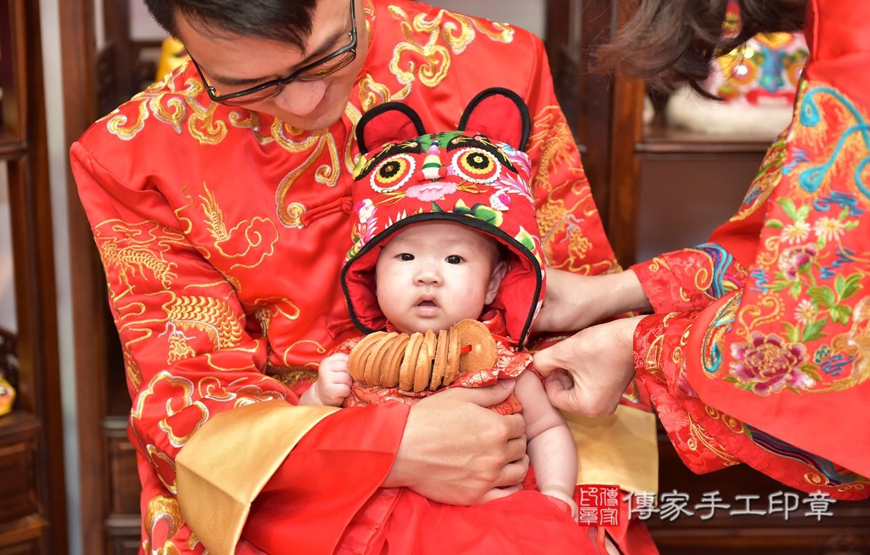 新竹市香山區林寶寶古禮收涎祝福活動。2021.01.28 照片21