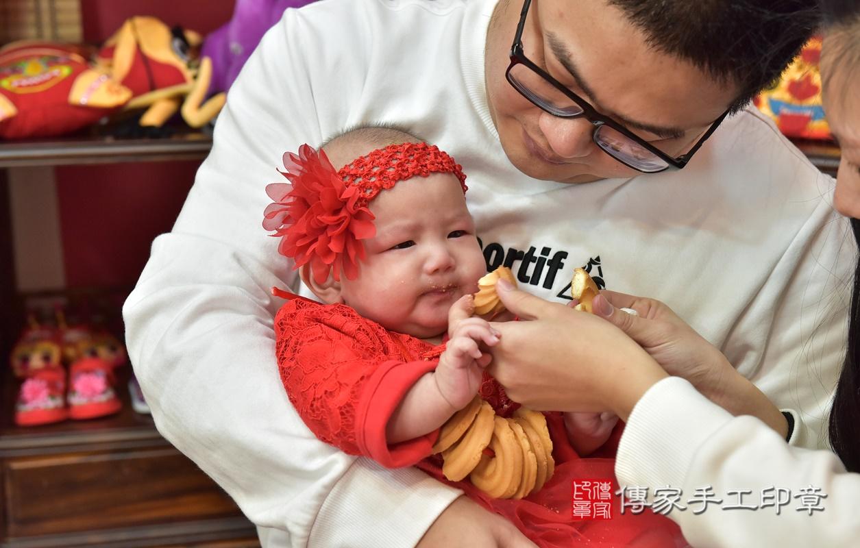 新竹市香山區盧寶寶古禮收涎祝福活動。2021.01.10 照片19