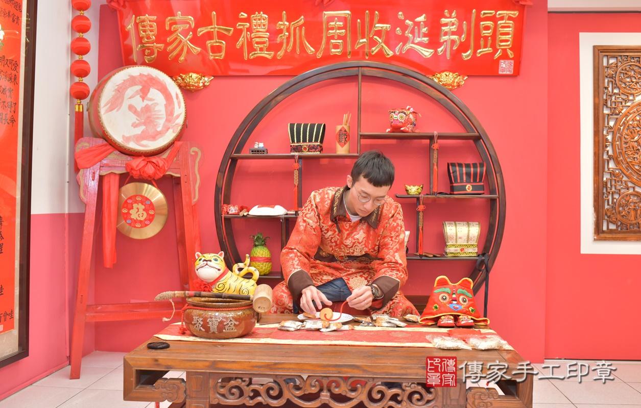 台中市北區劉寶寶古禮收涎祝福活動。2021.01.18 照片26