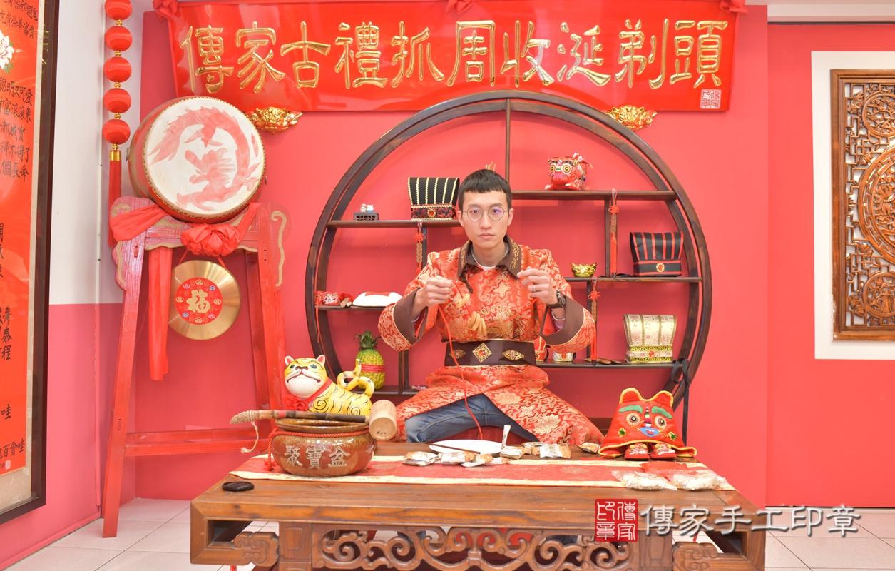 台中市北區劉寶寶古禮收涎祝福活動。2021.01.18 照片28