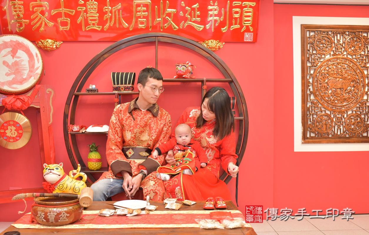 台中市北區劉寶寶古禮收涎祝福活動。2021.01.18 照片16