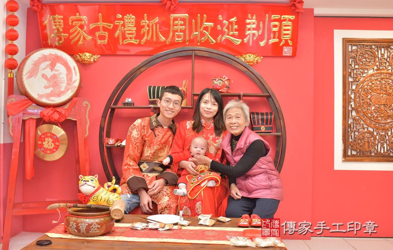 台中市北區劉寶寶古禮收涎祝福活動。2021.01.18 照片18