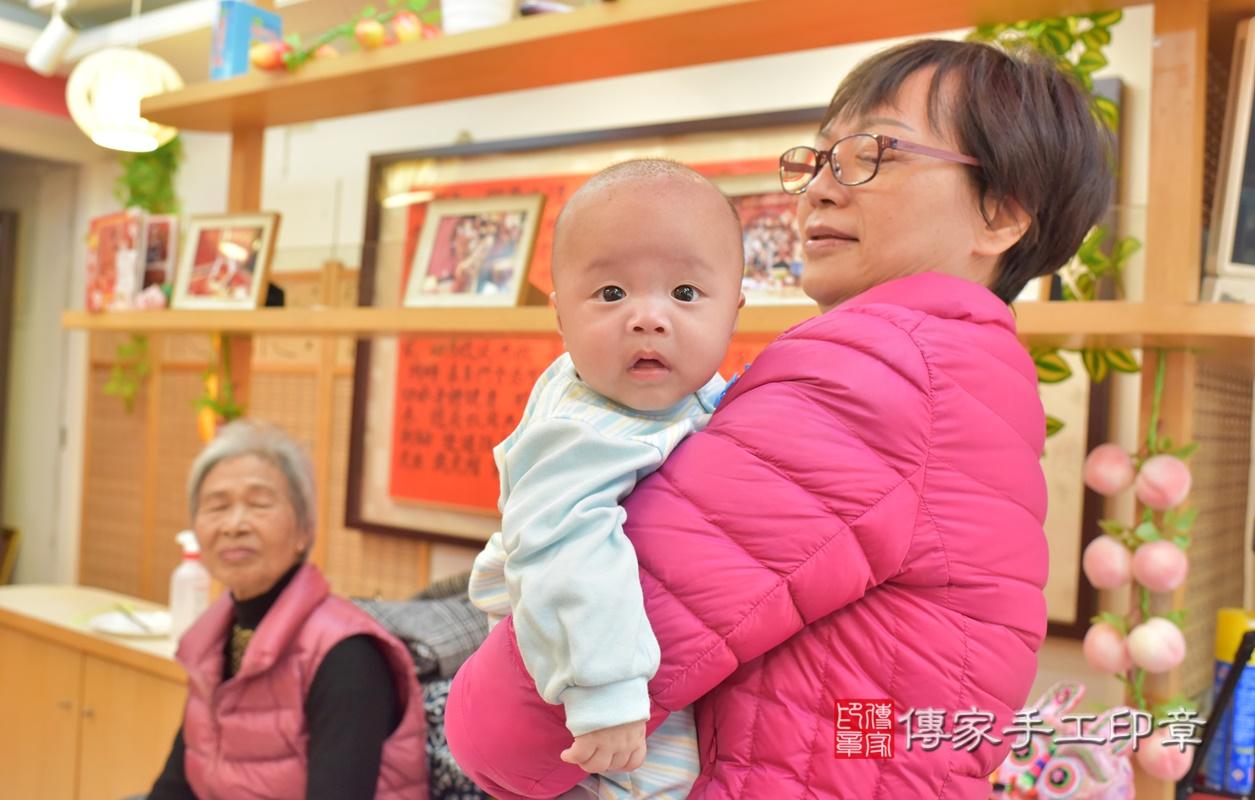 台中市北區劉寶寶古禮收涎祝福活動。2021.01.18 照片30