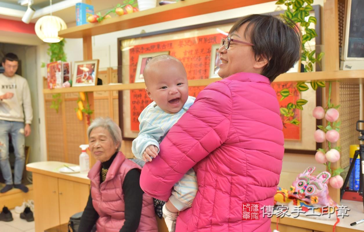台中市北區劉寶寶古禮收涎祝福活動。2021.01.18 照片31