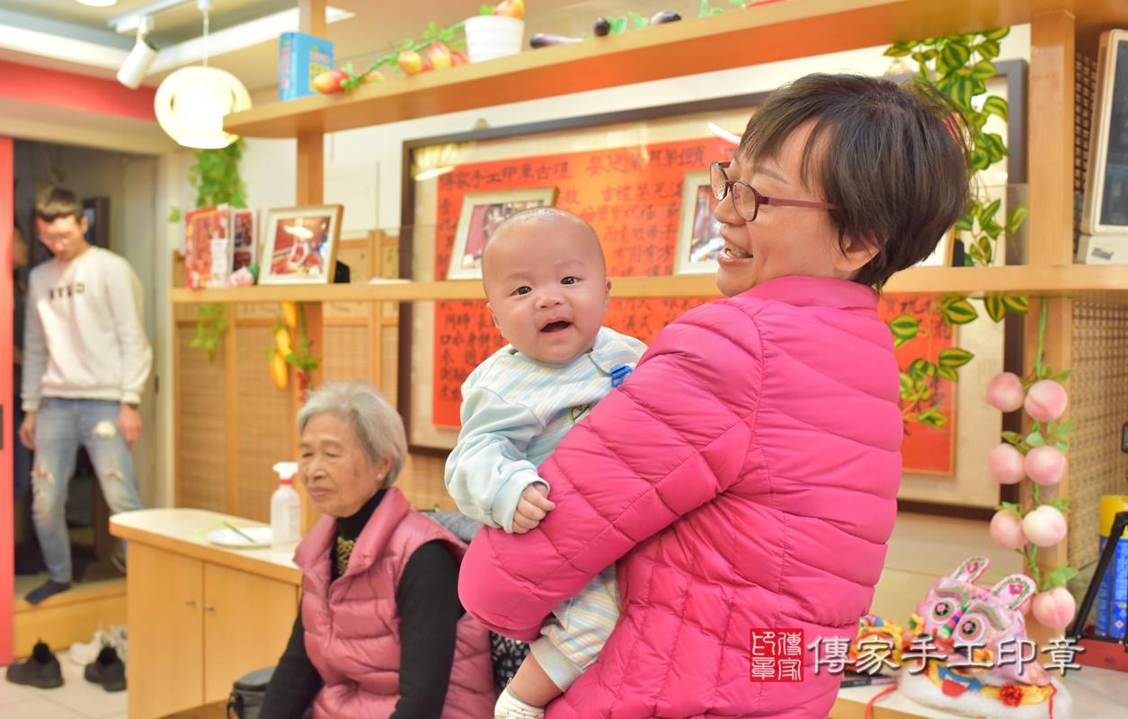 台中市北區劉寶寶古禮收涎祝福活動。2021.01.18 照片33