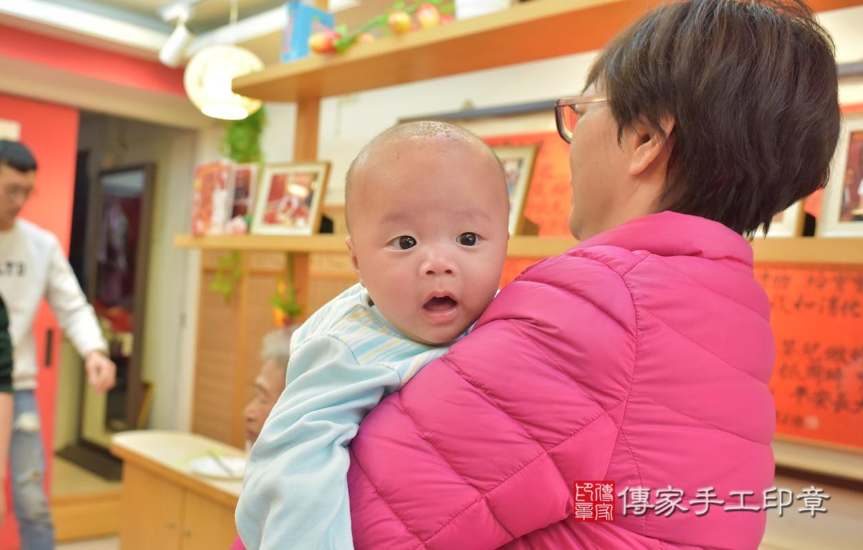 台中市北區劉寶寶古禮收涎祝福活動。2021.01.18 照片34