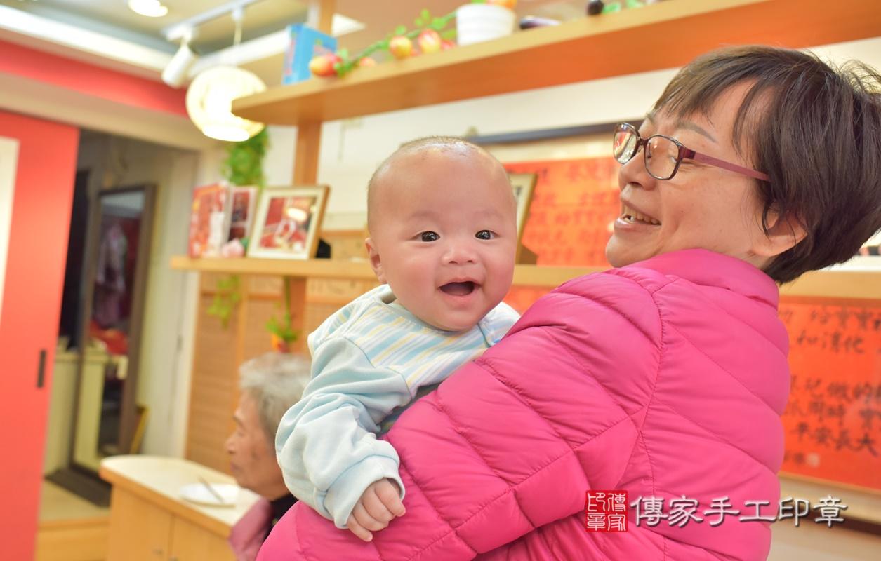 台中市北區劉寶寶古禮收涎祝福活動。2021.01.18 照片35