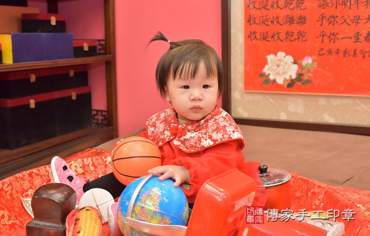 台中市北區李寶寶古禮抓周祝福活動。2021.02.20 照片1