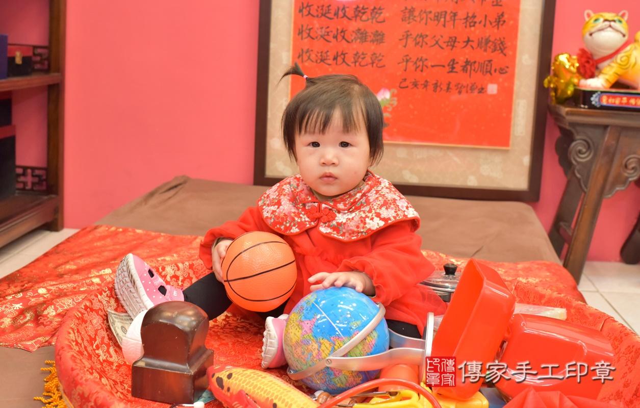 台中市北區李寶寶古禮抓周祝福活動。2021.02.20 照片18
