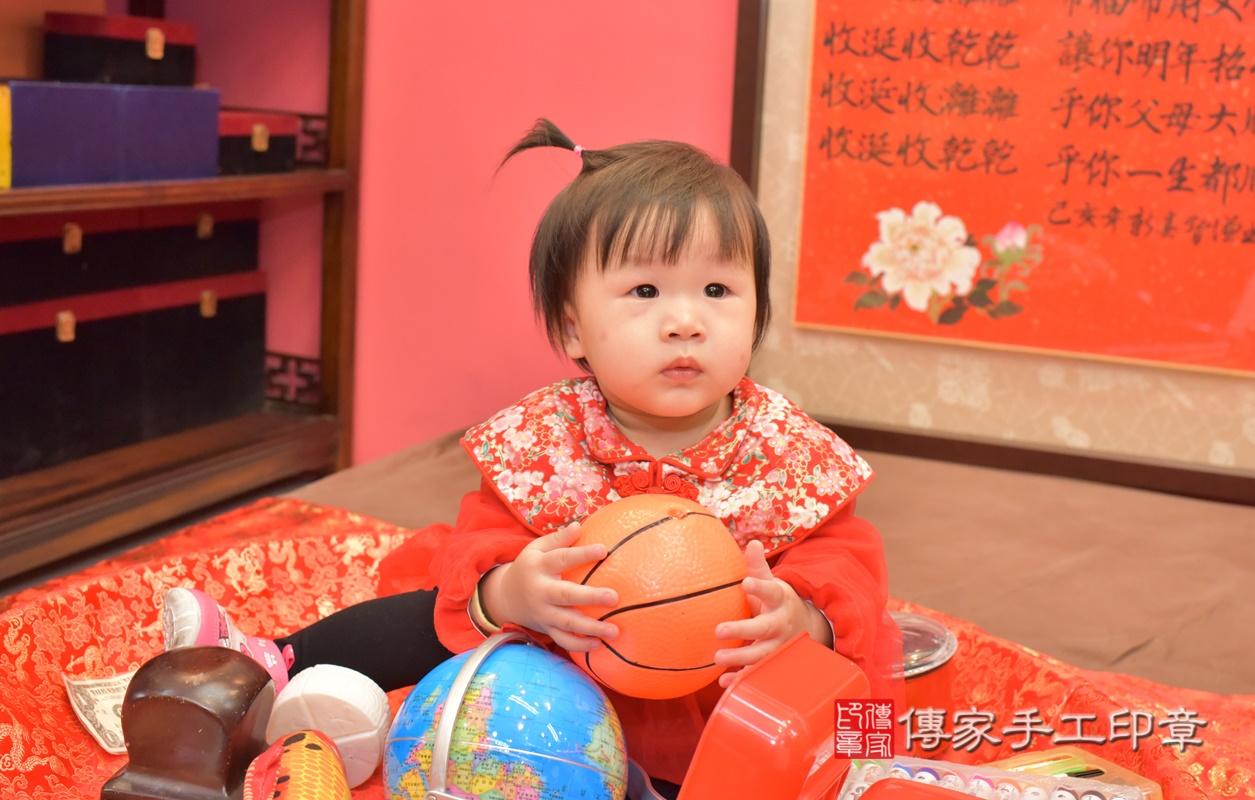 台中市北區李寶寶古禮抓周祝福活動。2021.02.20 照片19