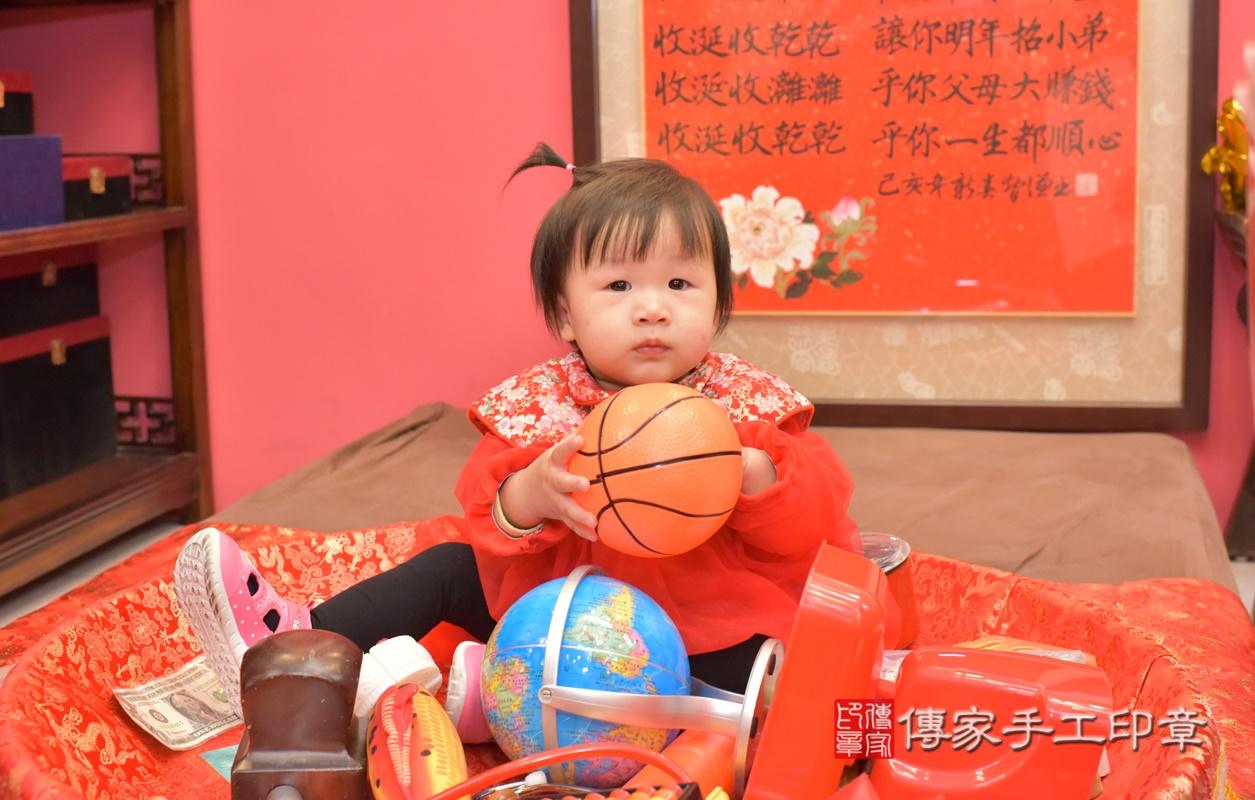 台中市北區李寶寶古禮抓周祝福活動。2021.02.20 照片20
