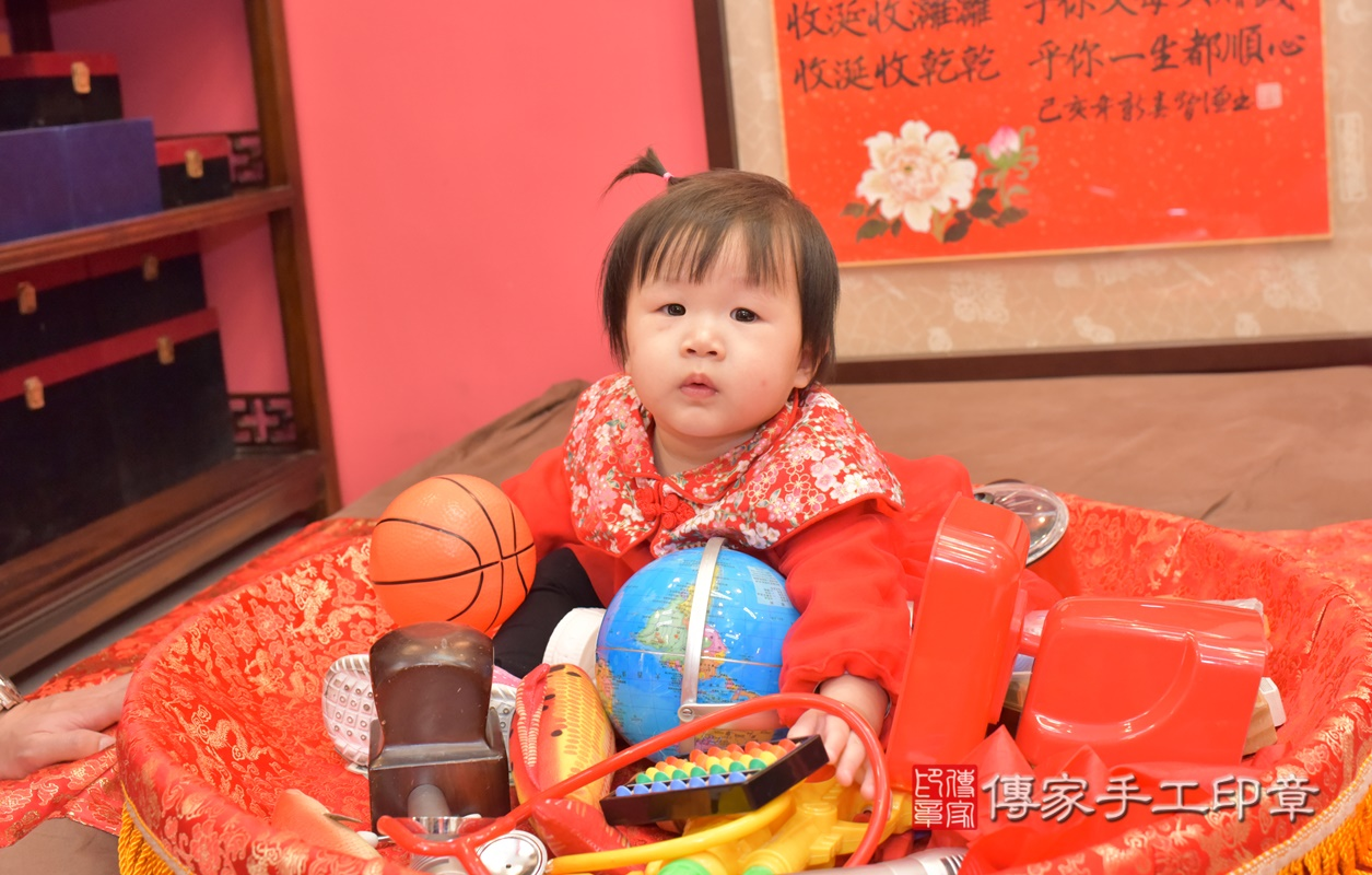 台中市北區李寶寶古禮抓周祝福活動。2021.02.20 照片21