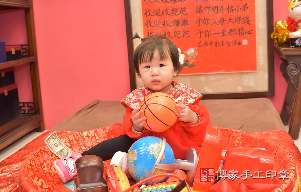 台中市北區李寶寶古禮抓周祝福活動。2021.02.20 照片22