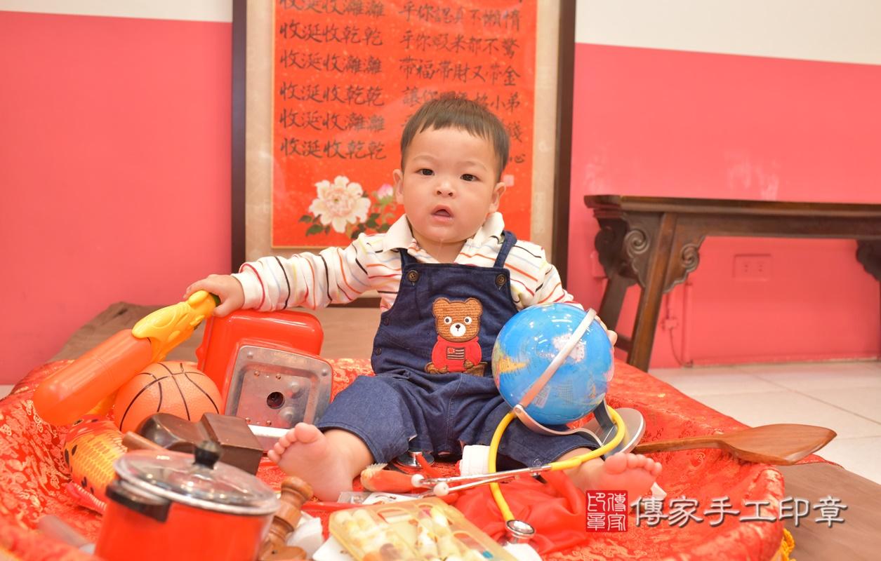 台中市北區游寶寶古禮抓周祝福活動。2021.03.01 照片1