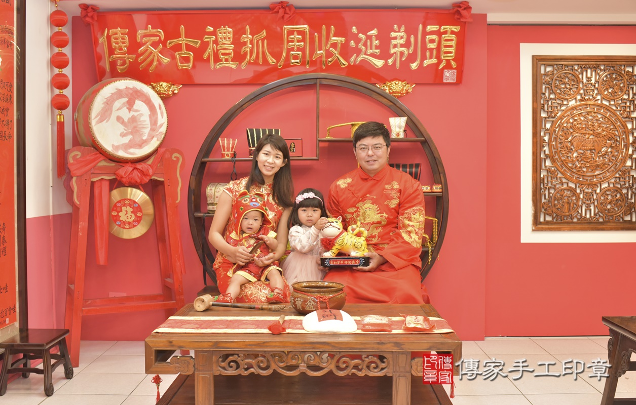 台中市北區游寶寶古禮抓周祝福活動。2021.03.01 照片7