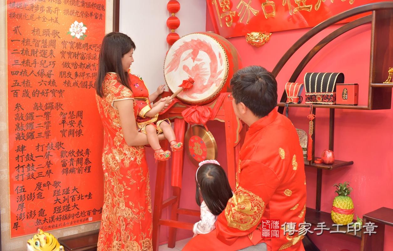 台中市北區游寶寶古禮抓周祝福活動。2021.03.01 照片9