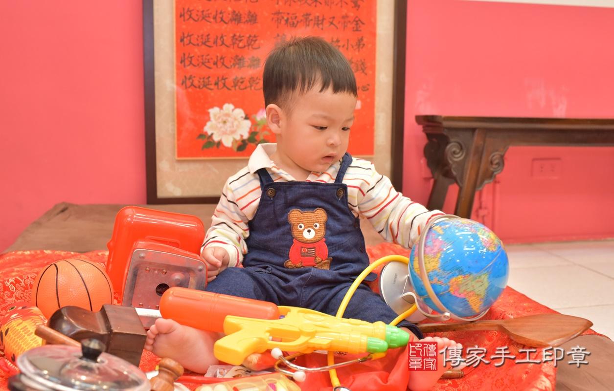台中市北區游寶寶古禮抓周祝福活動。2021.03.01 照片12