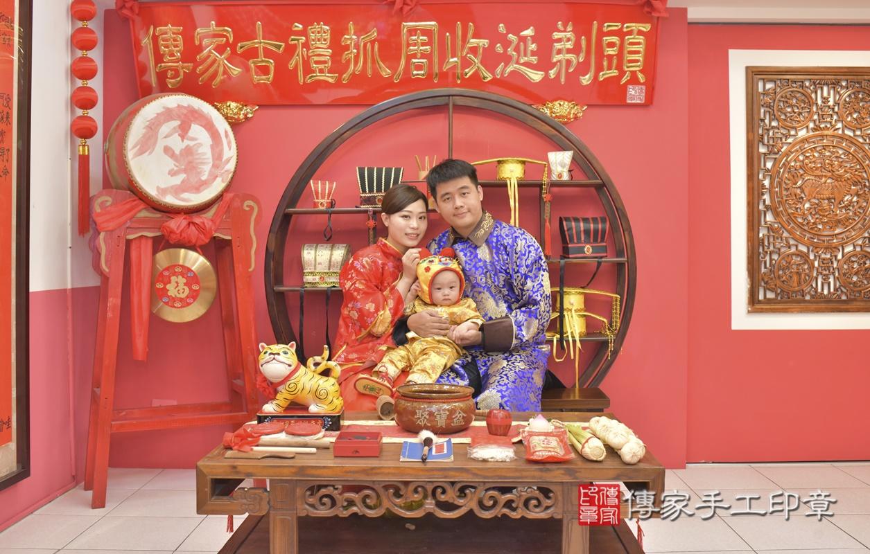台中市北區陳寶寶古禮抓周祝福活動。2021.02.24 照片9
