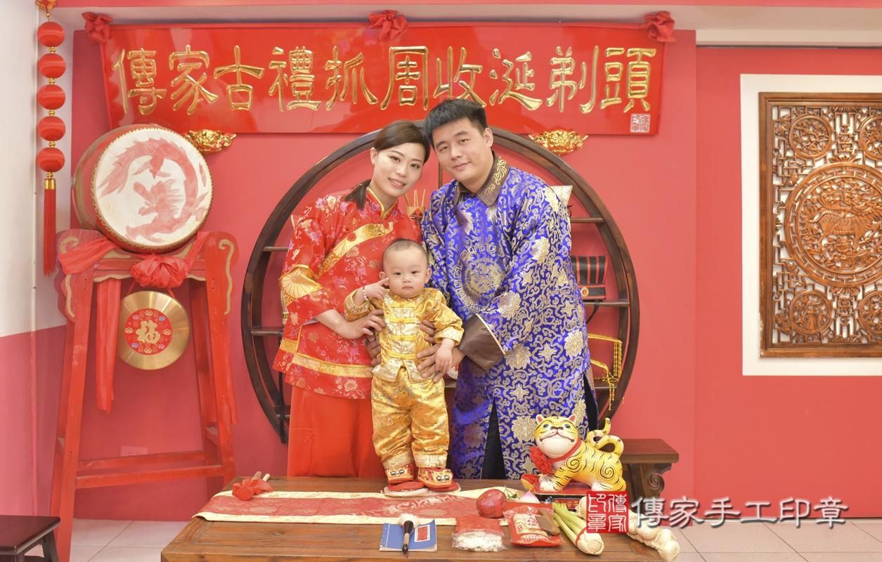 台中市北區陳寶寶古禮抓周祝福活動。2021.02.24 照片16