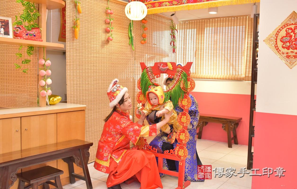 台中市北區陳寶寶古禮抓周祝福活動。2021.02.24 照片21