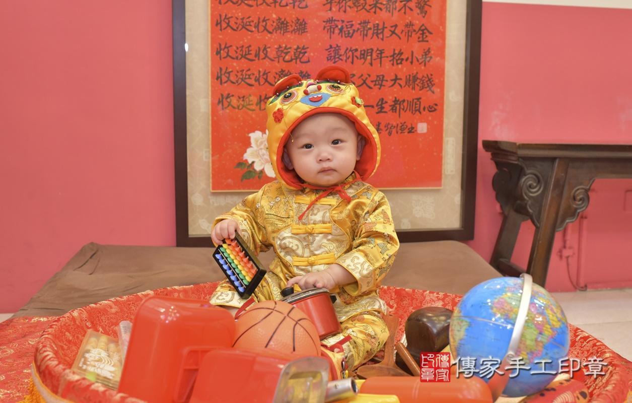 台中市北區陳寶寶古禮抓周祝福活動。2021.02.24 照片23