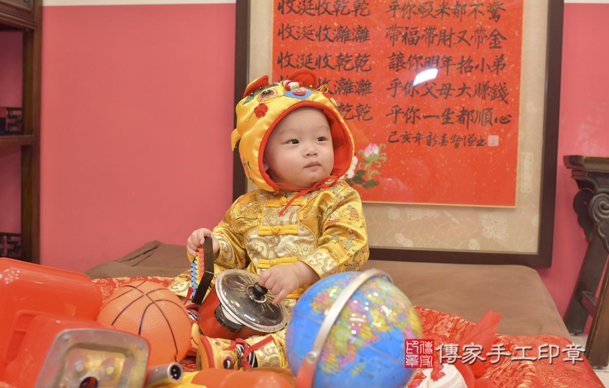 台中市北區陳寶寶古禮抓周祝福活動。2021.02.24 照片24