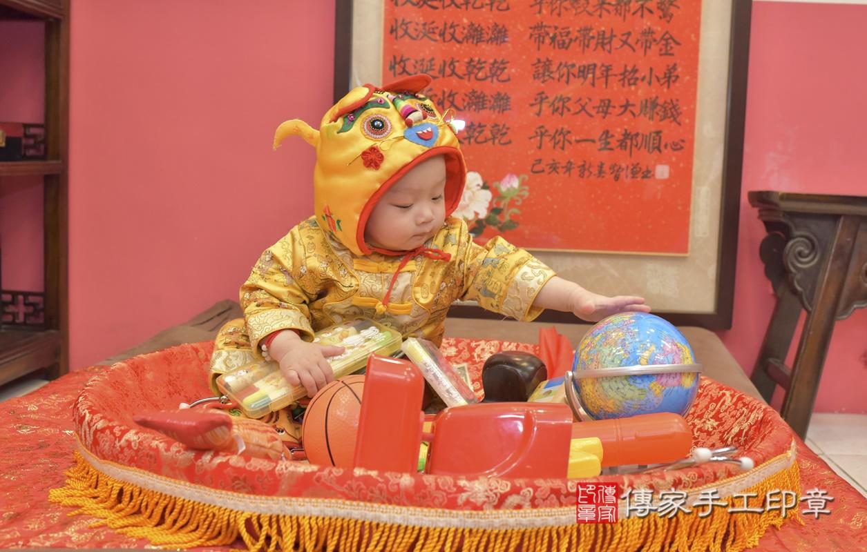 台中市北區陳寶寶古禮抓周祝福活動。2021.02.24 照片27