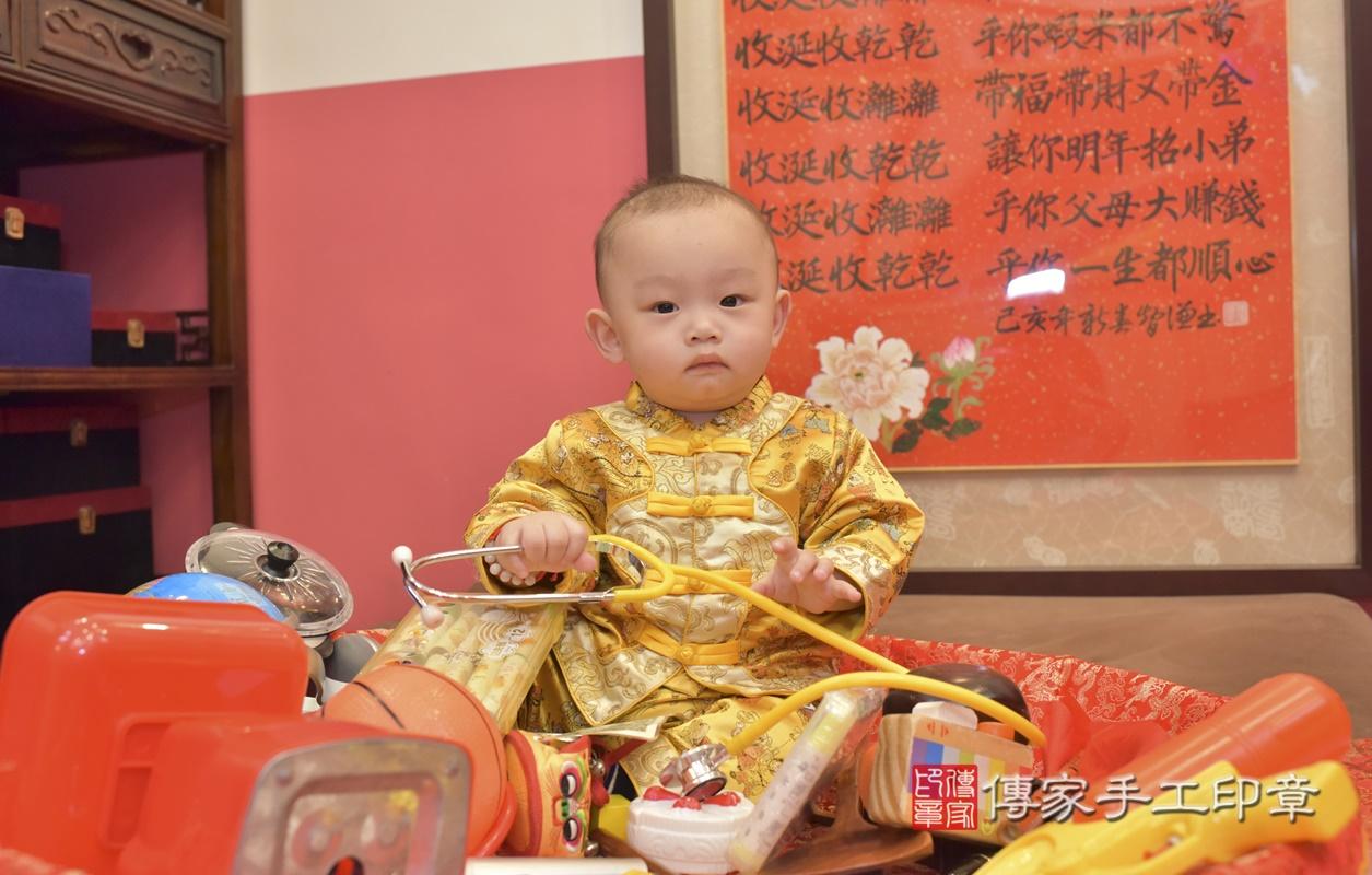 台中市北區陳寶寶古禮抓周祝福活動。2021.02.24 照片28