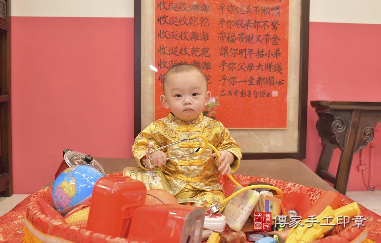 台中市北區陳寶寶古禮抓周祝福活動。2021.02.24 照片29