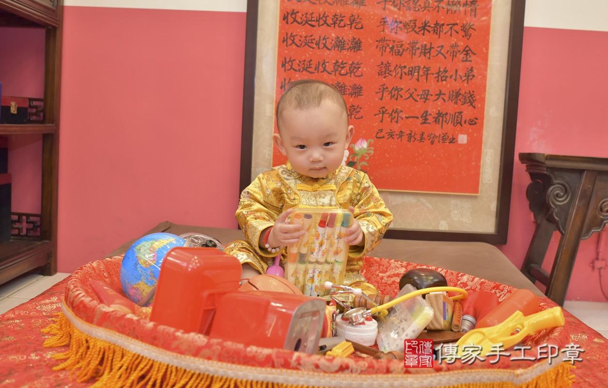 台中市北區陳寶寶古禮抓周祝福活動。2021.02.24 照片30