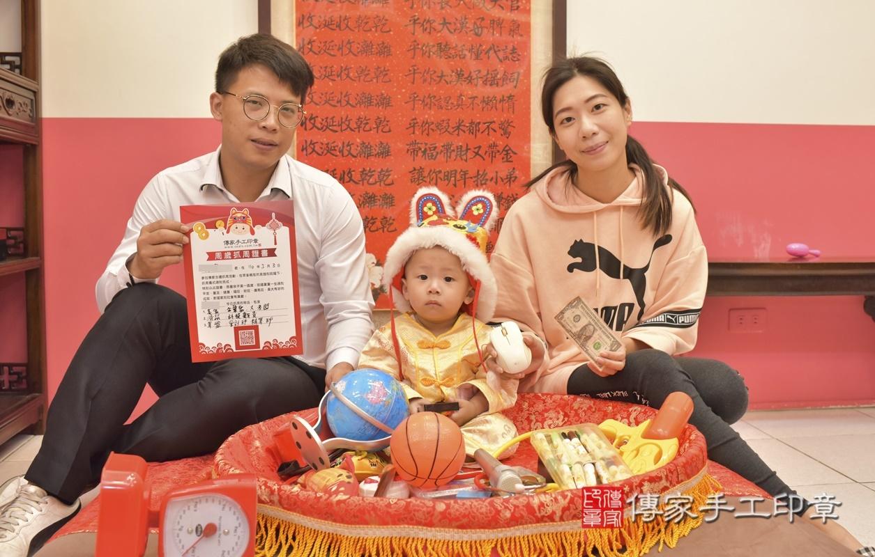 台中市北區林寶寶古禮抓周祝福活動。2021.03.03 照片3