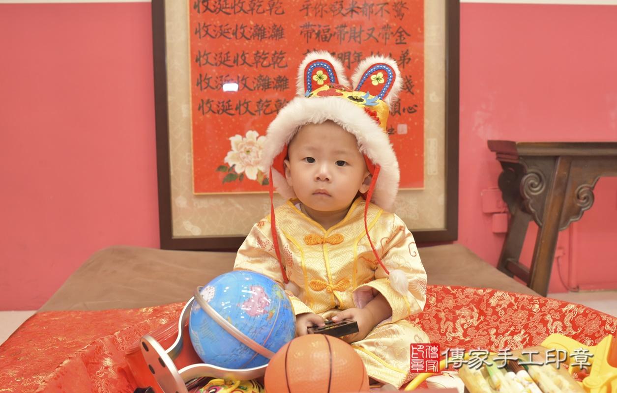台中市北區林寶寶古禮抓周祝福活動。2021.03.03 照片1