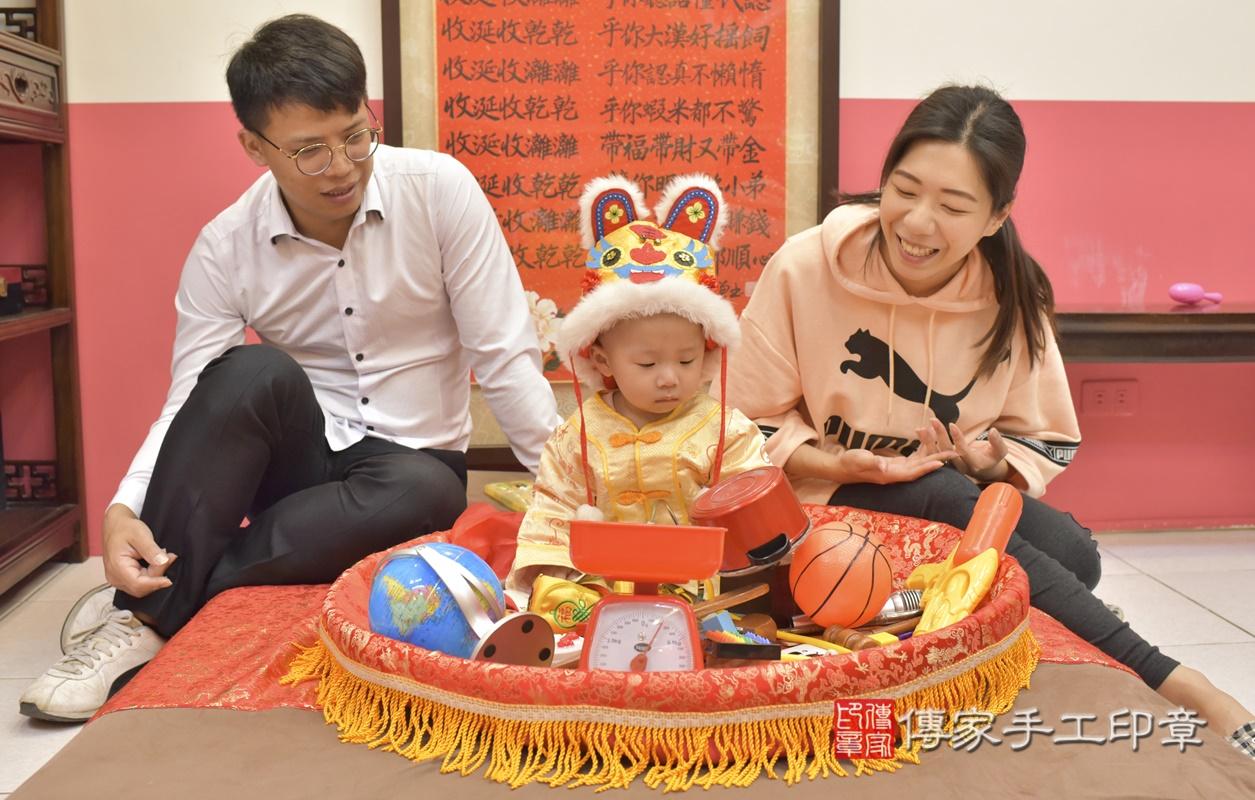 台中市北區林寶寶古禮抓周祝福活動。2021.03.03 照片2