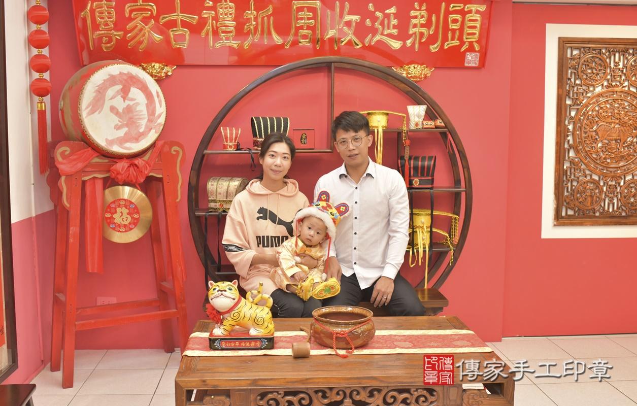 台中市北區林寶寶古禮抓周祝福活動。2021.03.03 照片4
