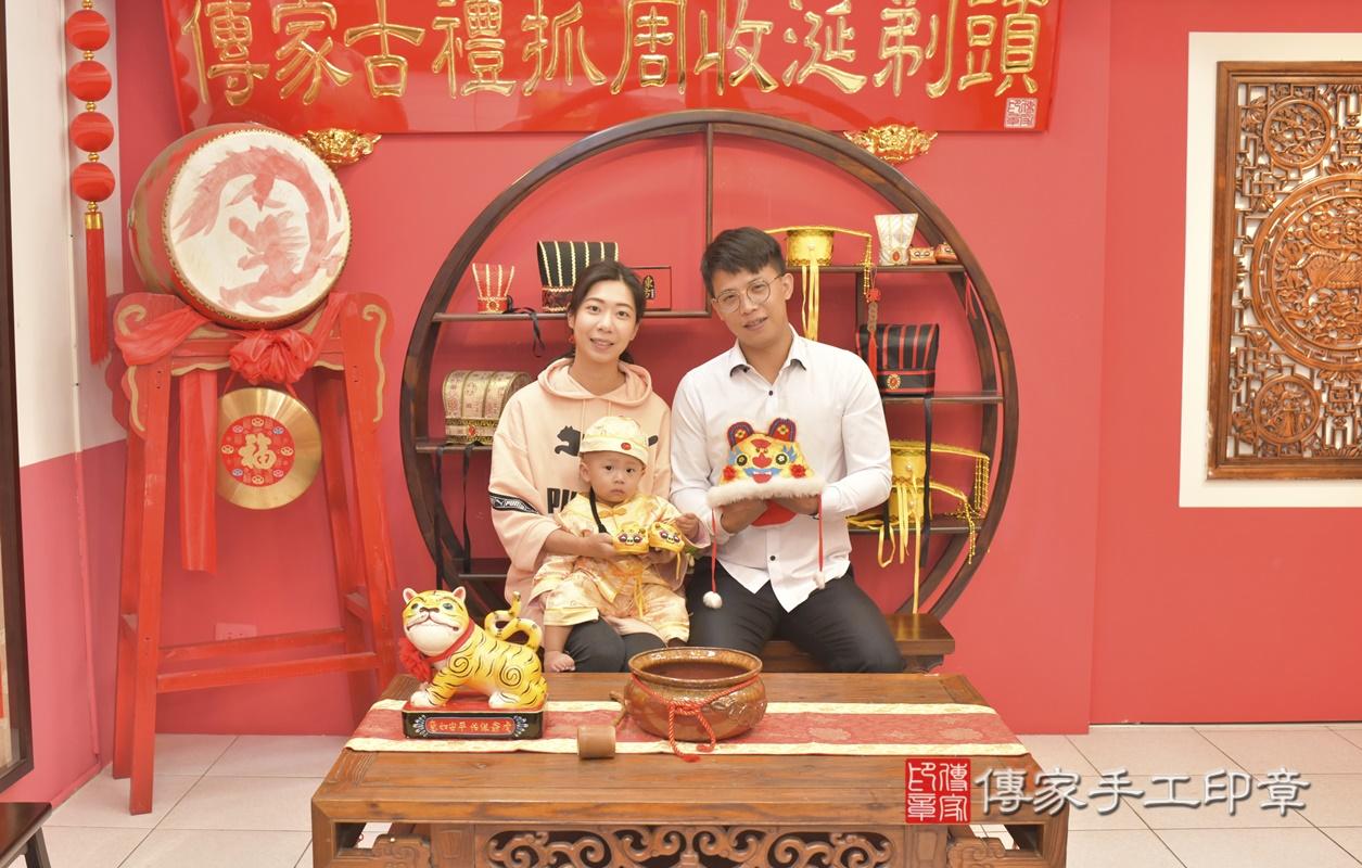 台中市北區林寶寶古禮抓周祝福活動。2021.03.03 照片5