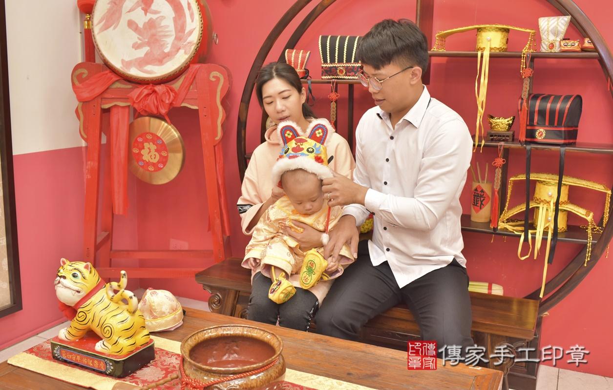 台中市北區林寶寶古禮抓周祝福活動。2021.03.03 照片7