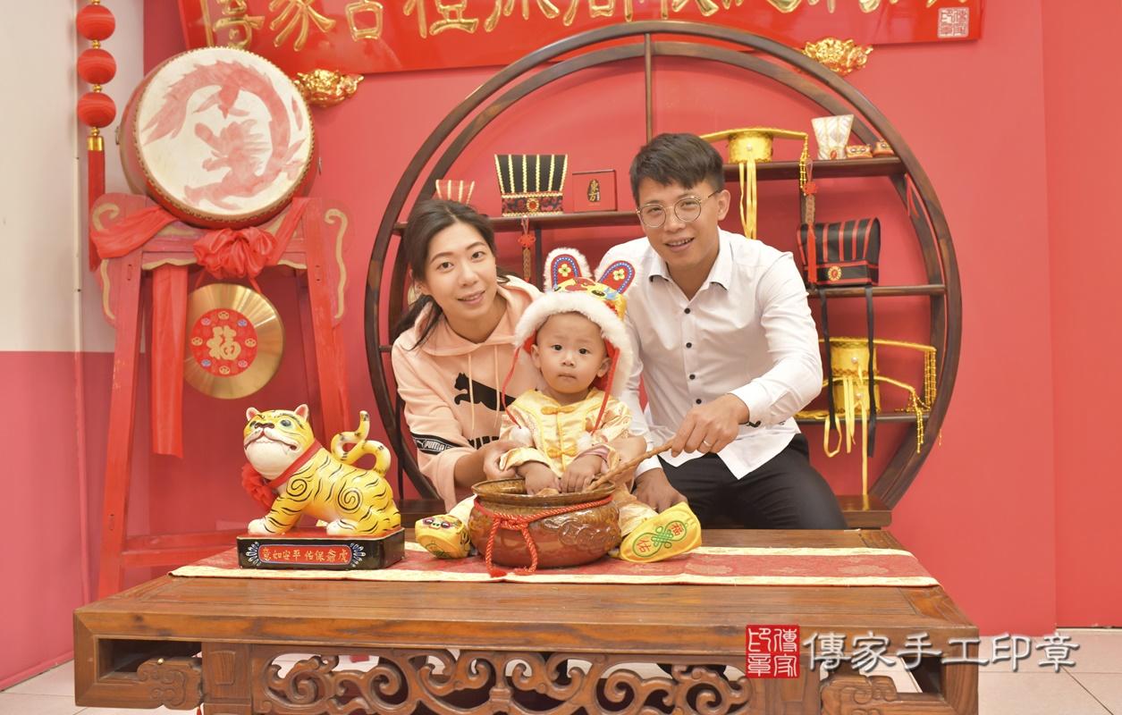 台中市北區林寶寶古禮抓周祝福活動。2021.03.03 照片8