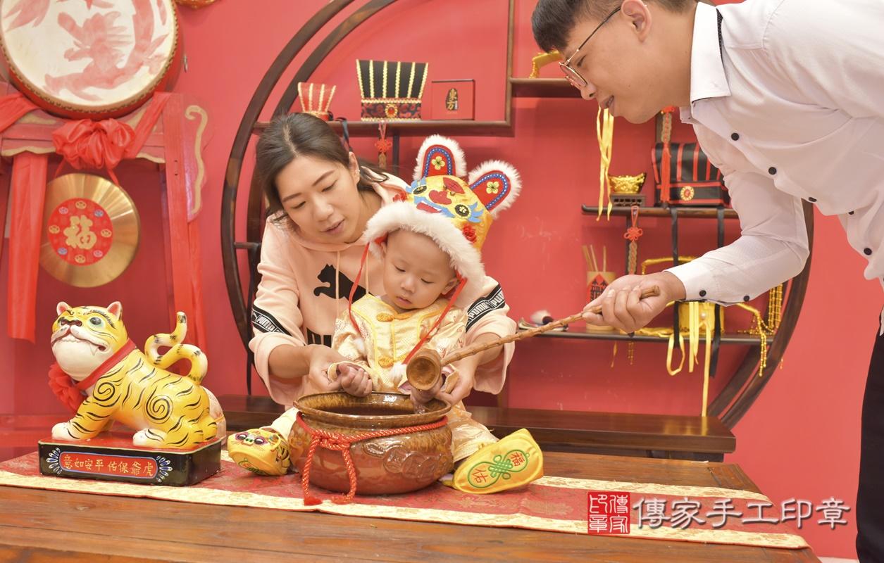 台中市北區林寶寶古禮抓周祝福活動。2021.03.03 照片9