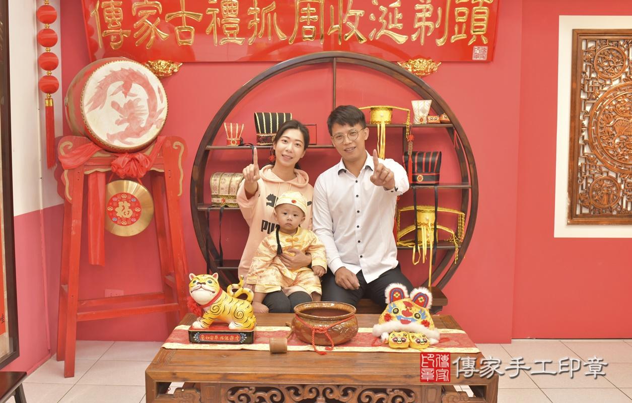 台中市北區林寶寶古禮抓周祝福活動。2021.03.03 照片19