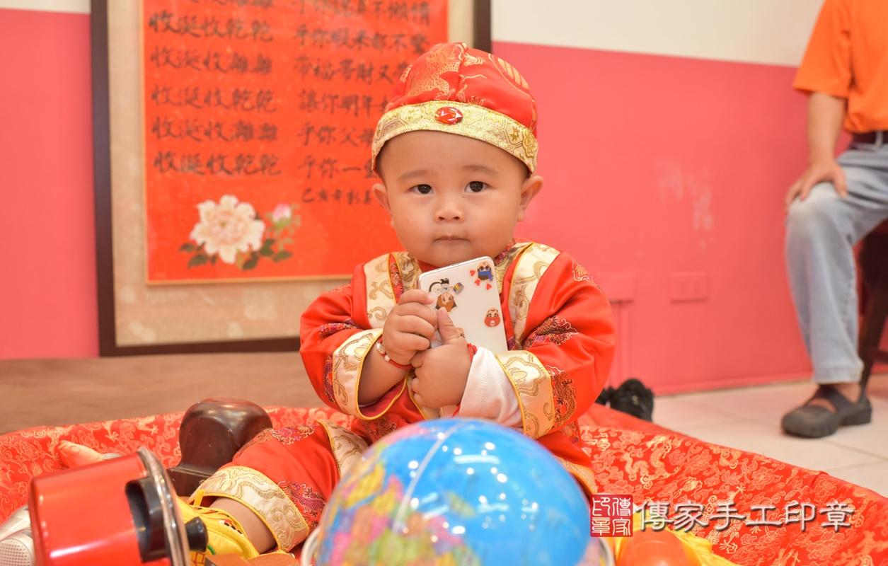 台中市北區吳寶寶古禮抓周祝福活動。2021.02.28 照片1